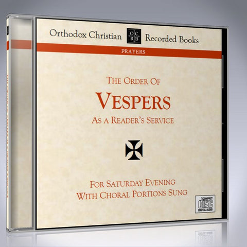 Vespers as a Reader's Service - MP3 Download