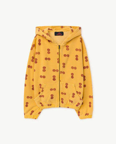 The Animals Observatory Albatros Kids Sweatshirt (Yellow Circles) - TA-DA!