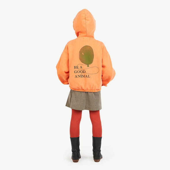 The Animals Observatory Albatros Kids Sweatshirt (Orange Balloon) - TA-DA!