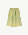 The Animals Observatory Yellow Sow Kids Skirt - TA-DA!