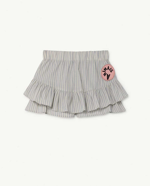 The Animals Observatory Stripes Kiwi Kids Skirt - TA-DA!