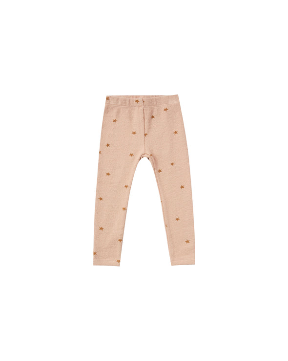 Rylee + Cru - AW2020 Star knit Legging (Rose)