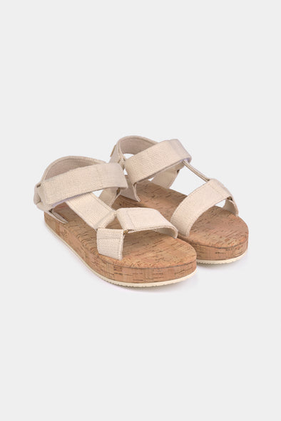 Bobo Choses SS20 Bobo Choses Raw Velcro Sandals - TA-DA!