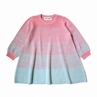 Ami Amie Long Sleeve Knit Dress (Pink) - TA-DA!