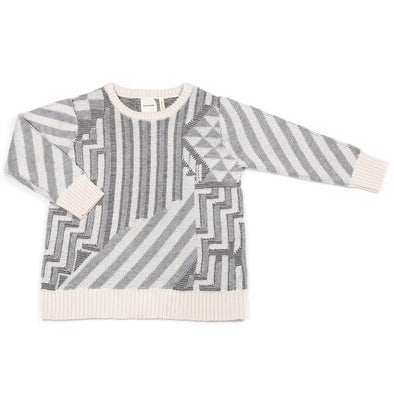 Journey Jumper (Cream / Navy)