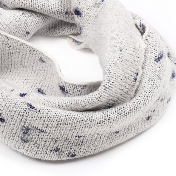 Firework Snood (Navy / Cream)