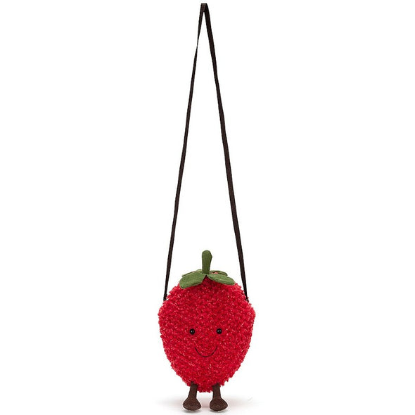 Amuseable  Strawberry  Bag