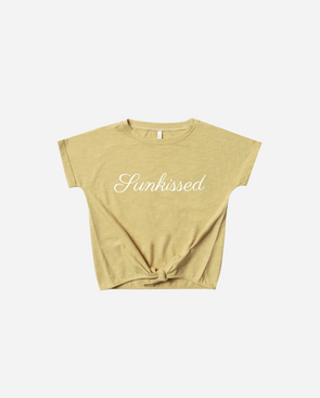 SS20 Sunkissed Knotted Tee (Citron)