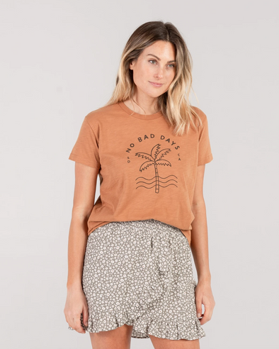 SS20 Basic tee (No bad days) (Adult) (Bronze)