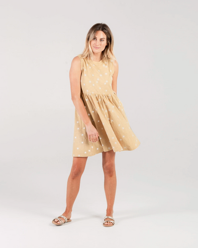 SS20 Layla Dress (Adult) (Suns) (Citron)