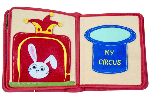My First Book ( 4 ) - Amazing Circus (3 Years+) (Red / Green)