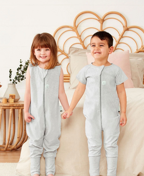 Short Sleeve Sleep Onesie (1.0 Tog)
