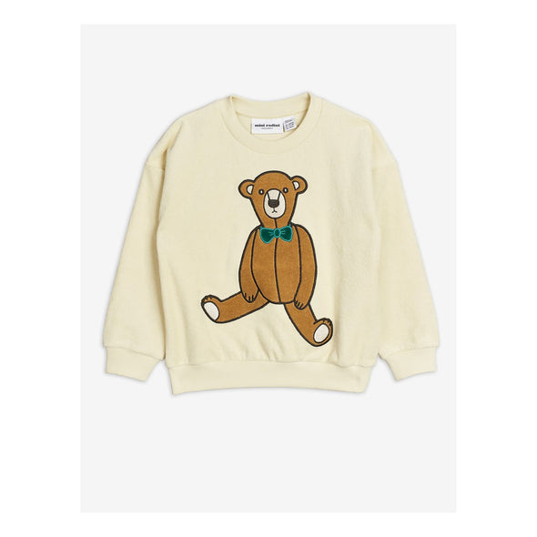 Mini Rodini SS20 Teddy Bear Sweatshirt (Off White) - TA-DA!