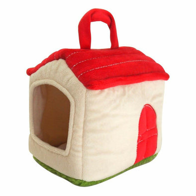 Pet / Mushroom / Tree  House Soft Toy