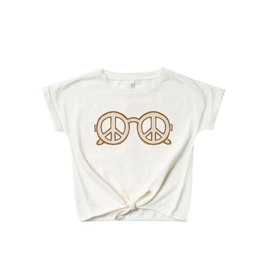 Peace Knotted Tee