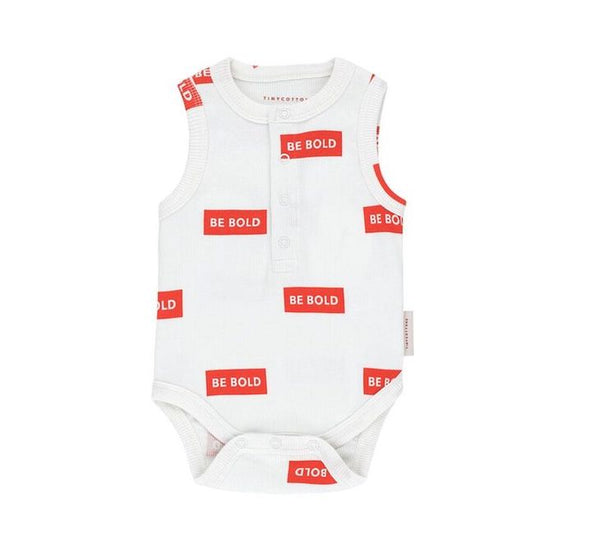 Tiny Cottons 'BE BOLD' SL Bodysuit - TA-DA!