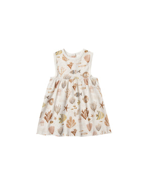 Rylee + Cru SS20 Sea Life Layla Dress (Ivory) - TA-DA!