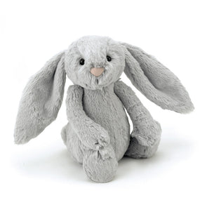 Jellycat Bashful Silver Bunny (Medium) - TA-DA!