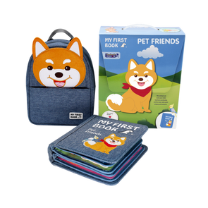My First Book ( 10 ) - Pet Friends  (0-3 Years)
