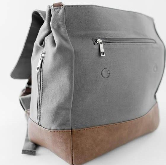 Little Unicorn Marindale Backpack (Grey / Olive) - TA-DA!
