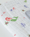 Little Unicorn Cotton Muslin Quilt (Mermaid) - TA-DA!