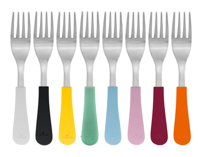 Avanchy Stainless Baby Forks (Multi Colour) - TA-DA!