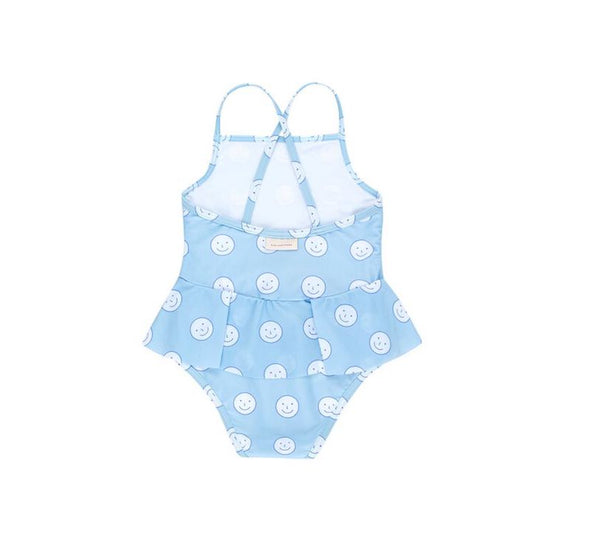 Tiny Cottons 'Happy Face' SWIMSUIT - TA-DA!
