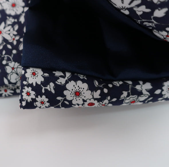 Chinese Style Coat (碎花企領親子裝唐服)(Blue)