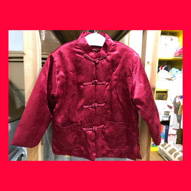 Chinese Coat (Dragon) (Red)