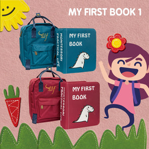 My First Book ( 1 ) (0-3 Years) (Red / Blue)