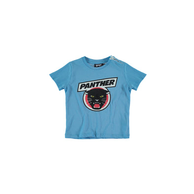 Panther Baby Tee (Blue Cadet)