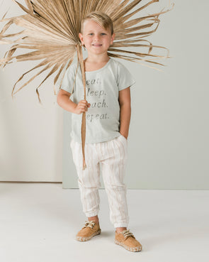 Rylee + Cru Eat Sleep Beach Basic Tee - TA-DA!
