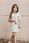 Rylee + Cru Jungle Jersey Shirt Dress - TA-DA!