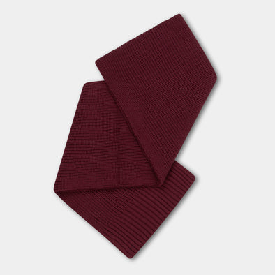 Repose AMS Knitted Scarf Small (Rosewood Red) - TA-DA!