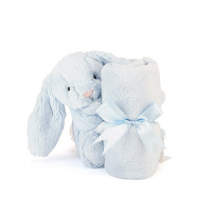 Jellycat Bashful Blue Bunny Soother - TA-DA!