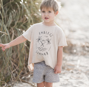 Rylee + Cru Endless summer raw edge t-shirt (Family Matching Outfits) - TA-DA!