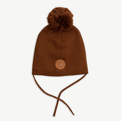Mini Rodini Penguin Hat (Brown) - TA-DA!