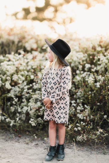 Rylee + Cru Jax Long Sleeve Shirt-dress (Family Matching Outfits) - TA-DA!