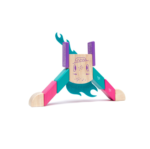 Tegu Finklebear Sticky Monsters Magnetic - TA-DA!