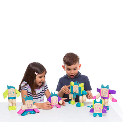 Tegu Sticky Monsters Magnetic - TA-DA!