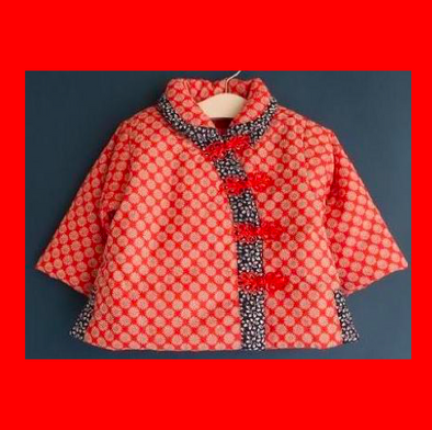 Chinese Folder Collar Coat
