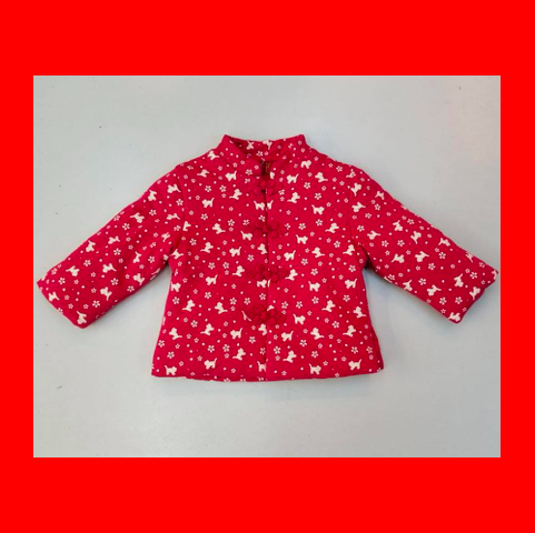 Chinese Coat (Cat) (Red)