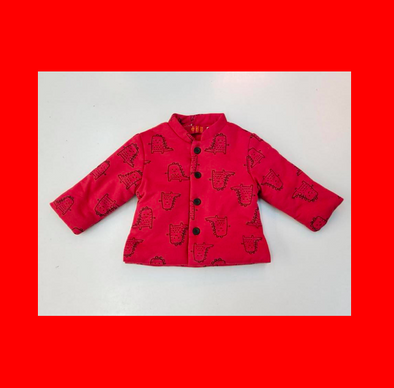 Chinese Coat (Dinosaur)(Red)