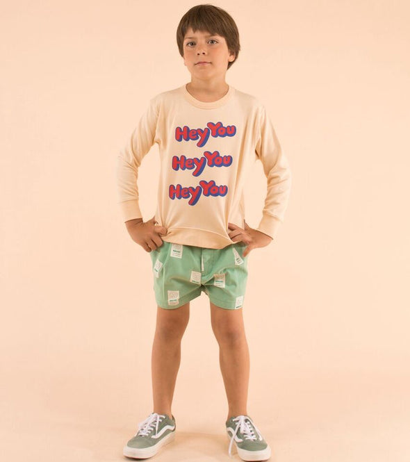 Tiny Cottons 'Hey You' Sweatshirt - TA-DA!