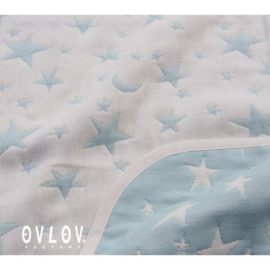 Ovlov Star Blanket (Blue) - TA-DA!