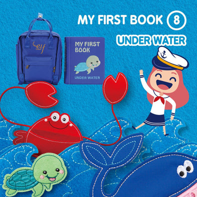 My First Book ( 8 ) - Under Water (3 Years+) (Blue)