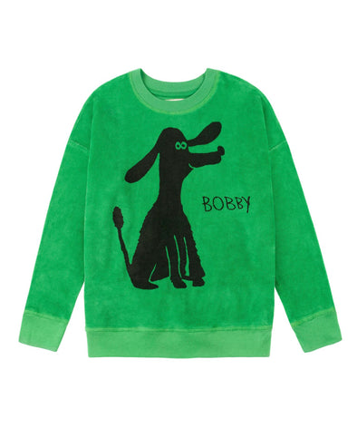 nadadelazos Dog SweatShirt (Green) - TA-DA!