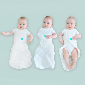 ergoPouch Cocoon Summer Swaddle and Sleep Bag (0.2 Tog) - TA-DA!