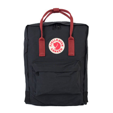 Kanken (Black + OX Red)