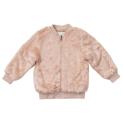 Rylee + Cru Fur bomber jacket (Family Matching Outfits) - TA-DA!
